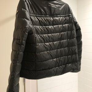 c61c70b3 Prada Moto Puffer Jacket, grey, size 42